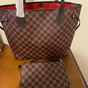 ***new Louis Vuitton neverfull MM